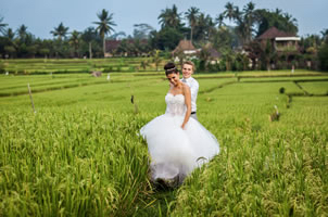 Nicole and Dean - Bali Wedding
