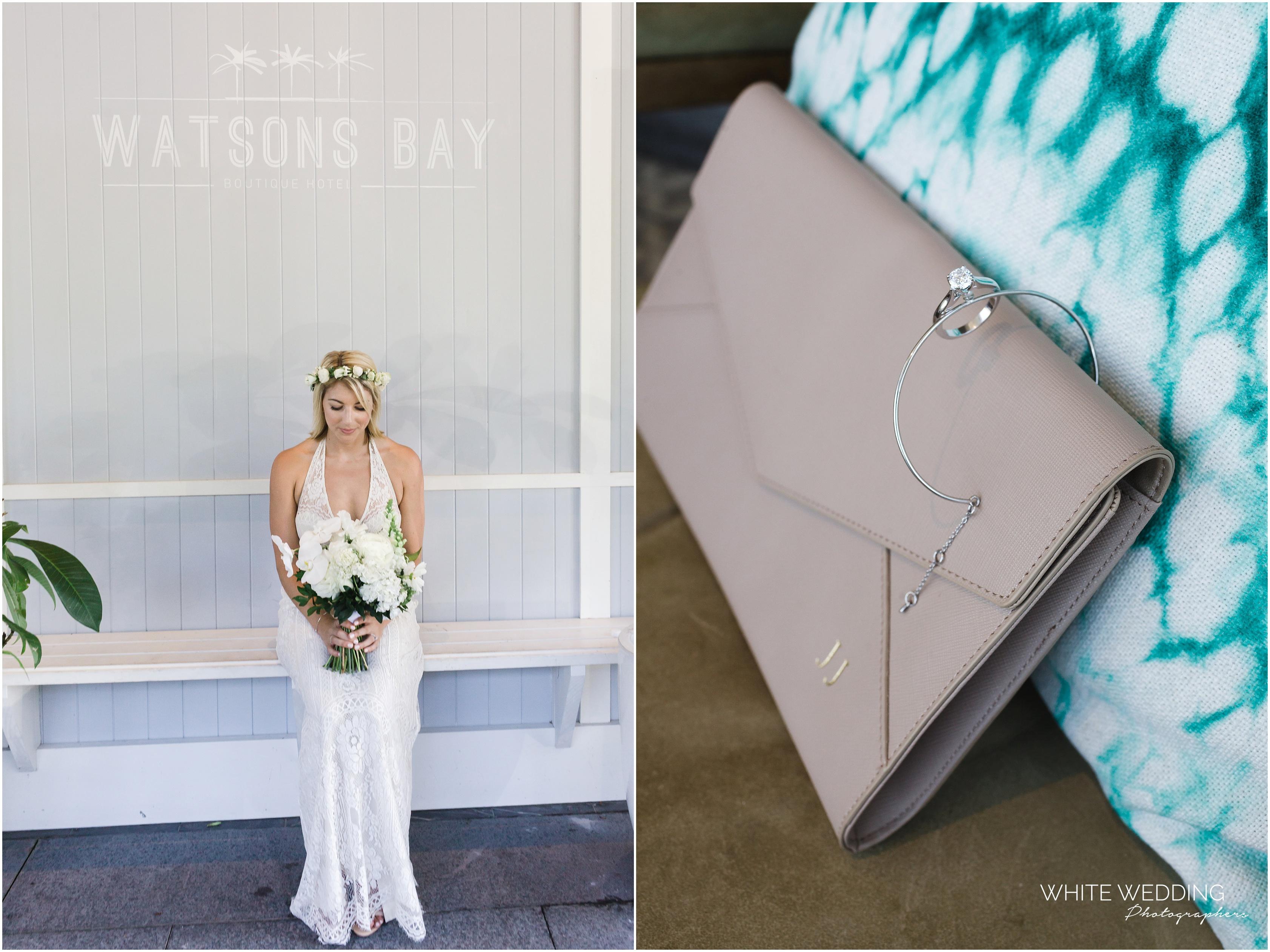 Watsons Bay Boutique Hotel Wedding Photographer