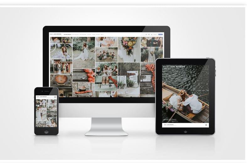 Online photo albums
