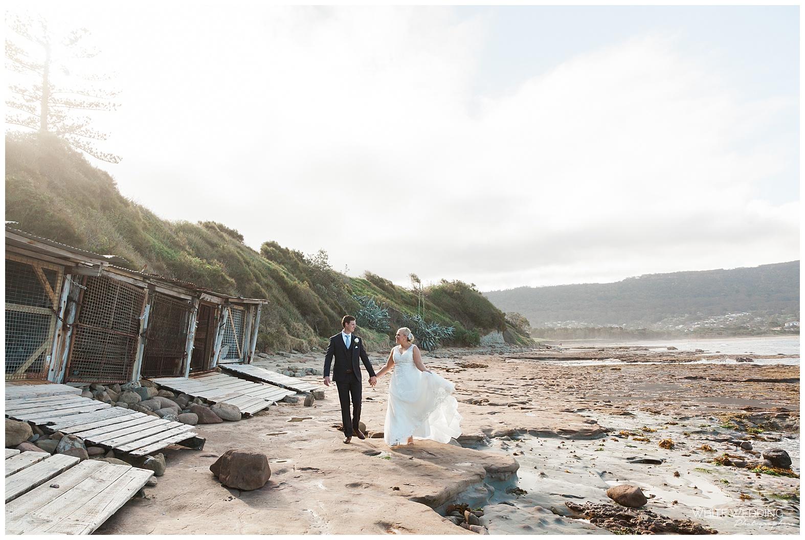 City Beach Wollongong Wedding Photographer Melissa And Ryan Wedding